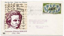 FDC Monaco 1969  - Berlioz - YT 782 - - FDC