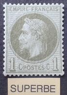 R1568/104 - NAPOLEON III Lauré N°25 NEUF* (quasi NEUF**) - LUXE - TRES BON CENTRAGE - 1863-1870 Napoleon III With Laurels