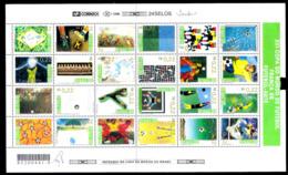 1255  Soccer - Football - 1998 - Brasil - MNH - Folded - 2,50 - Football