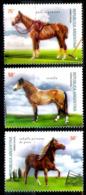 233  Horses - Chevaux - Argentina Yv 2197-02 MNH - 3,95 (15) - Horses