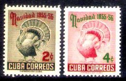 2859   Farm - Ferme - Turkeys . Christmas - Yv 431-32 - No Gum - Cb - 1,95 (15) - Ferme