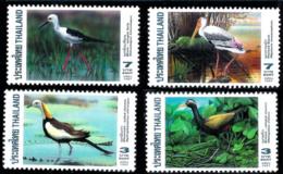 14651  Cranes - Grues - Thailandia - MNH - 1,95 (7) - Grues Et Gruiformes
