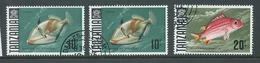 Tanzania 1967 Fish Definitives 10 Shillings X 2 ,  20 Shillings FU (3) - Tanzania (1964-...)