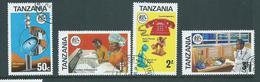 Tanzania 1975 Telecommunications Set 4 FU - Tanzania (1964-...)