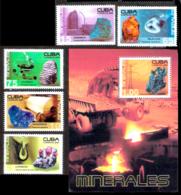 653  Minerals - Mineraux - 2005 - MNH - Cb - 3,25 - Minerals