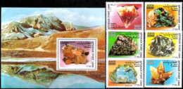 653  Minerals - Afghanistan 1999 - MNH - 2,95 - Minerals