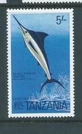 Tanzania 1977 5 Shilling Marlin MLH - Tanzania (1964-...)