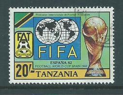 Tanzania 1982 FIFA Soccer World Cup Spain 20 Shillings FU - Tanzania (1964-...)