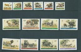 Tanzania 1980 Wildlife Definitive Set 14 MNH - Tanzania (1964-...)