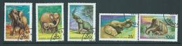 Tanzania 1991 Elephants Set 5 FU - Tanzania (1964-...)