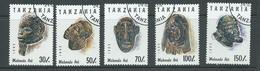 Tanzania 1992 Carvings Part Set 5 FU - Tanzania (1964-...)