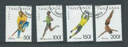 Tanzania 1993 Sports Part Set 4 FU - Tanzania (1964-...)