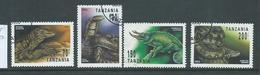 Tanzania 1993 Reptiles Part Set 4 FU - Tanzania (1964-...)