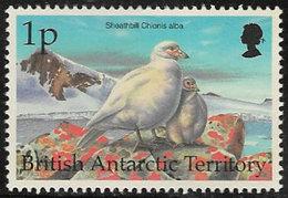 British Antarctic Territory SG290 1998 Birds 1p Unmounted Mint [6/7664/4D] - Unused Stamps