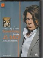 DVD David Fray   JS BACH  Film De Bruno Monsaingeon      Etat: TTB Port 110 Gr Ou 30 Gr - Concert Et Musique
