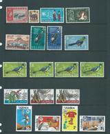 Uganda 1962 - 1995 Selection Of 43 Used & 4 MNH - Uganda (1962-...)