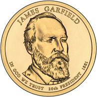 2011 • $1 • US President James A Garfield - Emissioni Federali
