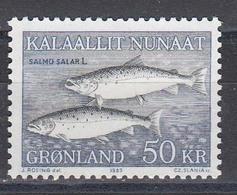 Groenland 1983 - Fishes, Mi-Nr. 140, MNH** - Groenlandia