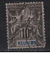 REUNION      N°     YVERT    36     OBLITERE       ( Ob  5/08 ) - Oblitérés