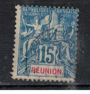 REUNION      N°     YVERT    37    OBLITERE       ( Ob  5/08 ) - Oblitérés
