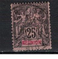 REUNION      N°     YVERT    39    OBLITERE       ( Ob  5/08 ) - Oblitérés