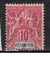 REUNION      N°     YVERT    47    OBLITERE       ( Ob  5/08 ) - Oblitérés