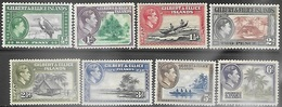 Gilbert & Ellice Islands  1939   Sc#40-6  MLH   2016 Scott Value $7.05 - Gilbert- Und Ellice-Inseln (...-1979)