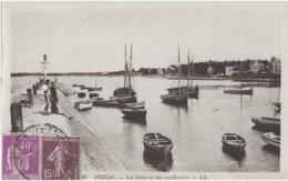 PIRIAC - LA JETEE ET LES SARDINIERS - BELLE ANIMATION - 1937 - Piriac Sur Mer