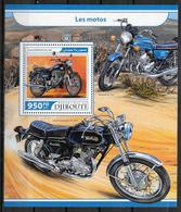 DJIBOUTI  BF 186  * * ( Cote 20e ) Moto - Moto