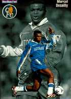 BLEU BLANC FOOT...MARCEL DESAILLY...CPM VOIR DOS - Soccer