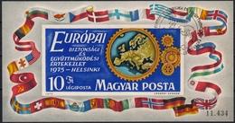 Ungarn MiNr. Bl. 113 B O Konferenz über Sicherheit Und Zusammenarbeit In Europa - Ungebraucht