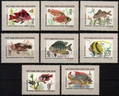 Vietnam MiNr. 866/73 ** Tropische Fische - Vietnam