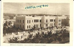 Colonie Italiane Colonia Somalia Italiana Mogadiscio Comando Truppe Di Mogadiscio Veduta Edificio (f.piccolo) - Somalia