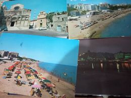 4 CARD  TERMOLI MOLISE VEDUTE SPIAGGIA PORTO CATTEDRALE    VB1980 HE141 - Campobasso