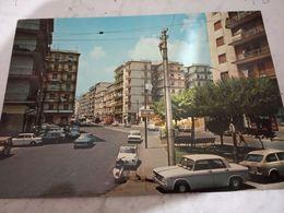 SALERNO PIAZZA  NICOTERA ZONA TORRIONE AUTO CAR FIAT 850  500  VESPA  LANCIA FULVIA N1975 HE144 - Salerno