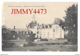 CPA - Couffé - Château De La Roche, Façade Ouest Canton De Ancenis 44 Loire Inf. - Cliché F. Gallerand à Nort Sur Erdre - Ancenis