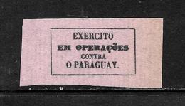 515 - BRASIL - 1865 - WAR STAMP -  FORGER?' - FAUX? - FAKE? - FALSOS? - Sellos