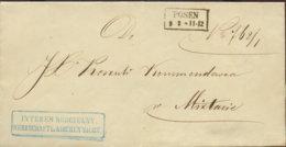 1859 POSEN Bf - ...-1849 Vorphilatelie