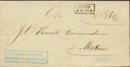 1859 POSEN Bf - [1] ...-1849 Préphilatélie