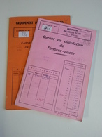 Lot N°8 - Un Lot De 2 Carnets De Circulations Suisse Pays Bas Et Portugal - Timbres