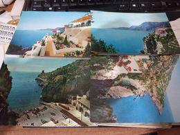 4 CARD PRAIANO VEDUTE VARIE VBN1962 HE149 - Salerno