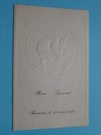 Huwelijk ROSA & LAURENT > BAASRODE Le 27 Avril 1957 ( Voir / Zie Foto's Voor Detail ) ! - Menus