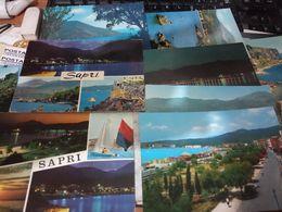 5 CARD SAPRI VEDUTE VARIE VBN1966/87 HE151 - Salerno