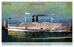 """New York  Steamer """"Kent"""" , Citizen's Line - NY - New York"""