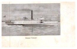 """Vermont  Steamer """"Vermont"""" - United States"""