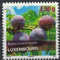 Luxembourg 2018 Oblitéré Rond Used Karschnatzpromm Variété De Prune SU - Gebruikt