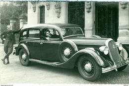 Automobile HOTCHKISS Photo Ancienne Originale - Cars