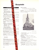 Gemeente Hoogstade - Org. Knipsel Uit Magazine 1958 - Geschiedenis - Folklore - Nijverheid - Handel + Landkaart - Vieux Papiers