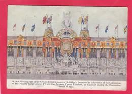 Modern Post Card Of Oxford Street,Frontage Of Selfridge`s,1937,P17. - London