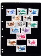 Ajman,1967Transport Definit Set,animals,ships,helico, Moto,bus, Ship Etc... IMPERFORATED MNH Superb- - Ajman